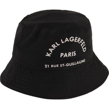Load image into Gallery viewer, Black Bucket Logo Hat