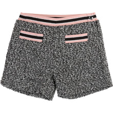 Load image into Gallery viewer, Grey Tweed Shorts