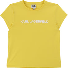 Load image into Gallery viewer, Yellow Logo Girls T-Shirt