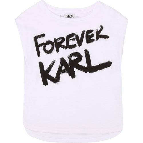 White 'Forever Karl' T-Shirt
