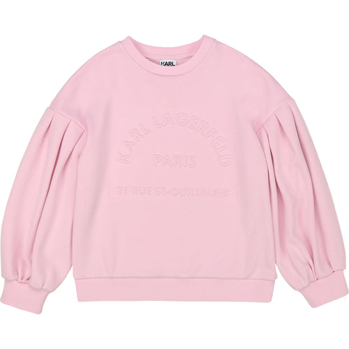 Pink Belle Sleeve Sweat Top