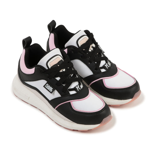 Black & Pink Karl Trainer
