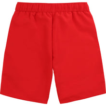 Load image into Gallery viewer, Red Logo Swimming Shorts