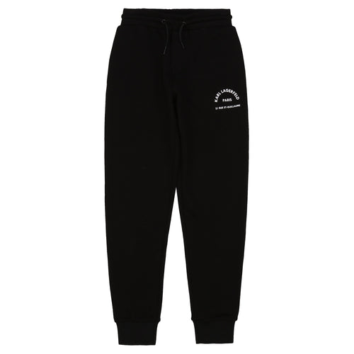 Black Karl Sweat Bottoms