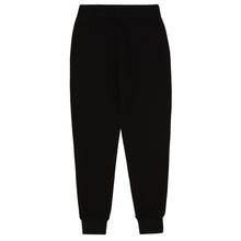 Load image into Gallery viewer, Black & White Trim Sweat Bottoms