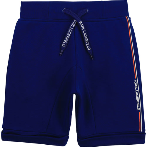 Electric Blue Sweat Shorts