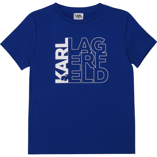 Electric Blue Logo T-Shirt