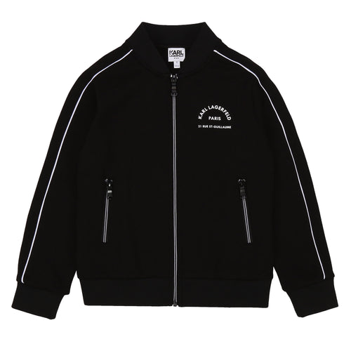 Black Karl Lagerfeld Jacket