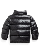 Load image into Gallery viewer, Black Down Puffer Jacket
