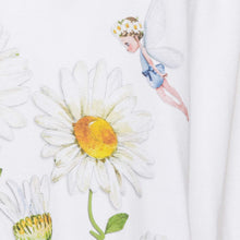 Load image into Gallery viewer, White Daisies & Fairy T-Shirt