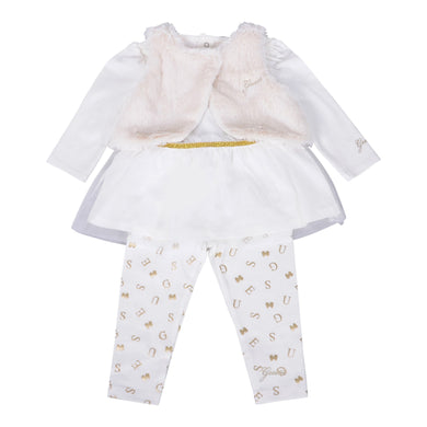 Girls Ivory 3-Piece Set
