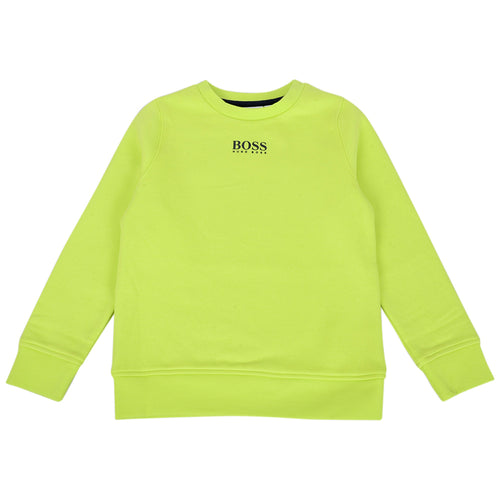Lime Green Sweat Top