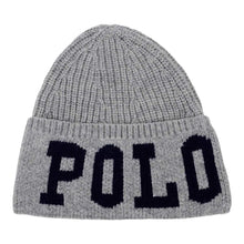 Load image into Gallery viewer, Grey Knitted Logo Hat