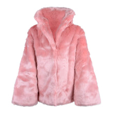 Load image into Gallery viewer, Pink Faux Fur Jacket
