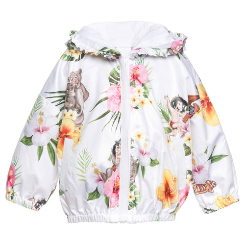 Monnalisa Sale White Jungle Book Jacket