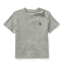 Load image into Gallery viewer, Grey Crew Neck Baby T-Shirt