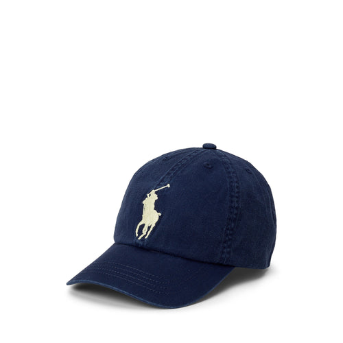 Navy & Yellow Logo Cap