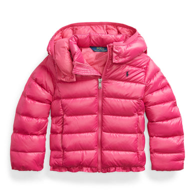 Pink Down Padded Jacket