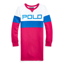 Load image into Gallery viewer, Pink Polo Sweat Dress