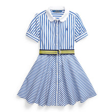 Load image into Gallery viewer, Blue & White Striped Dress