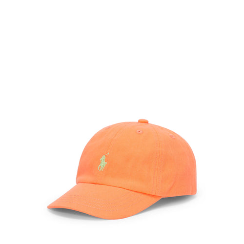 Orange Logo Cap