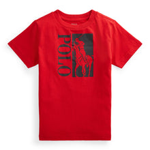 Load image into Gallery viewer, Red Polo Logo T-Shirt