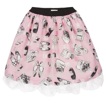 Pink Shoe & Bag Skirt