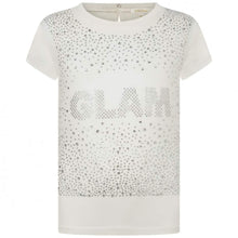 Load image into Gallery viewer, Ivory Diamante Glam Top