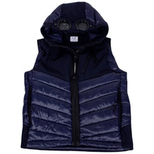Load image into Gallery viewer, Navy Goggle & Shell Gilet