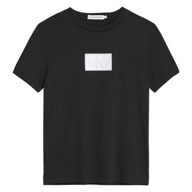 Black & Sliver Patch T-Shirt