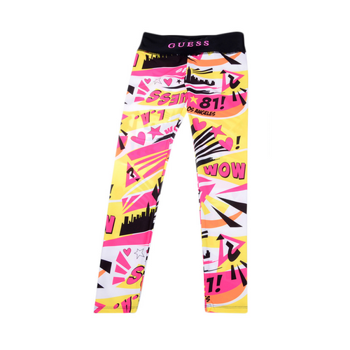 Pink Pop Art Leggings
