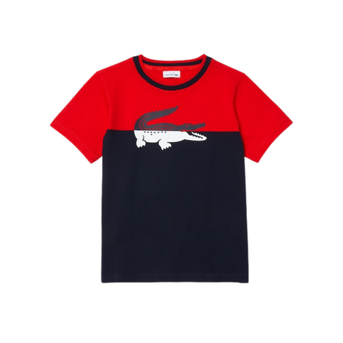 Red & Navy Logo T-Shirt