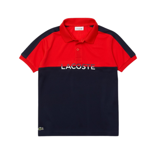 Red Logo Polo Shirt