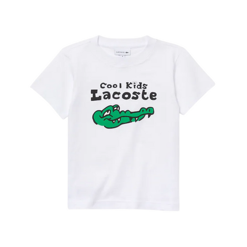 White Crocodile Logo T-Shirt