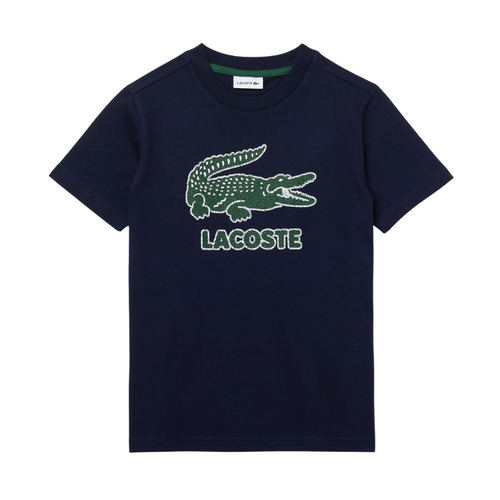 Navy Blue Crocodile T-Shirt