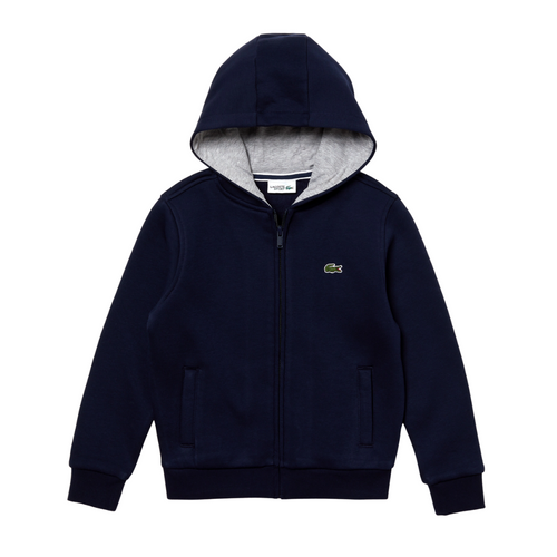Navy Blue Zip Up Hoodie