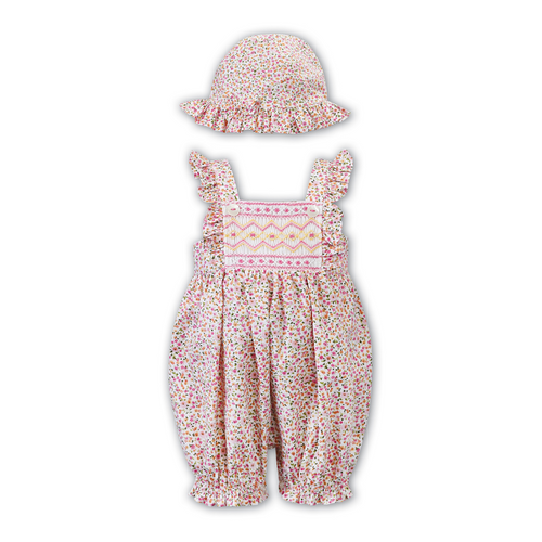 Ditsy Floral Shortie & Hat