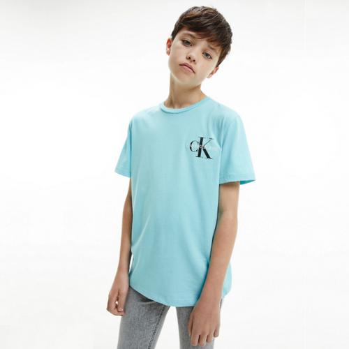 Blue CK Logo T-Shirt