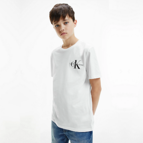 White CK Logo T-Shirt