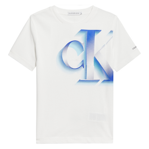 White Pixelated T-Shirt