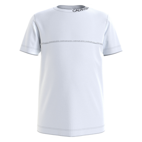 White Pipping T-Shirt
