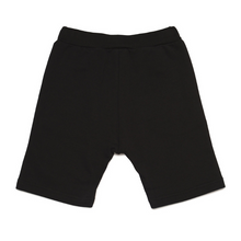 Load image into Gallery viewer, Black Logo Sweat Shorts
