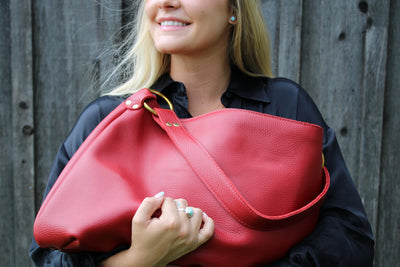 Cute Red Leather Accessories for Valentine's Day in 2021