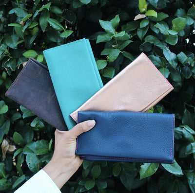 Make Your Outfit Pop with a Kerry Noël Custom Leather Wallet