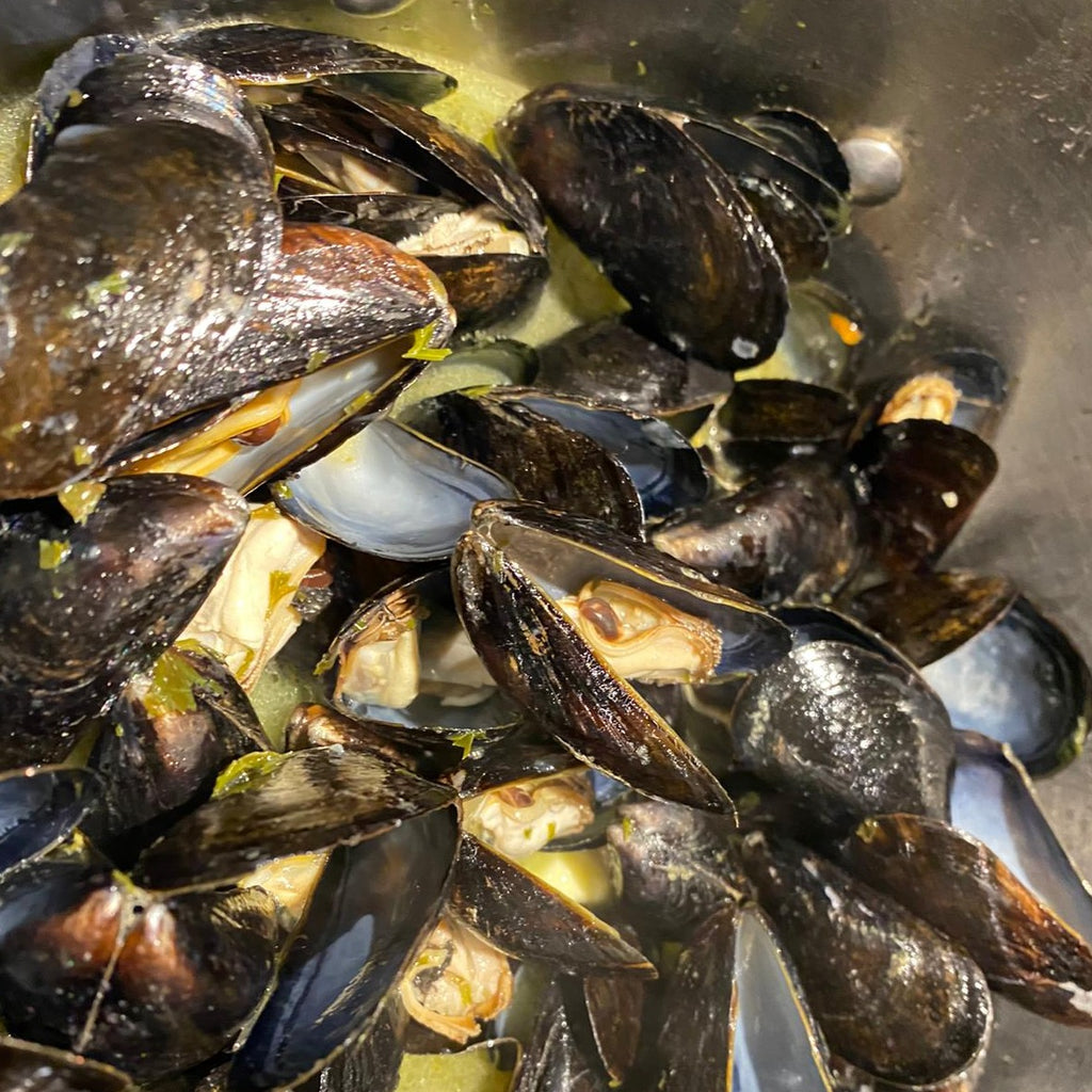 Mussels - Ready-to-Cook - Pqte. 2.5 lbs