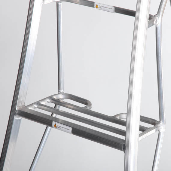 Platform Tripod Ladder - 3 Leg Adjustable 6ft / 1.8m