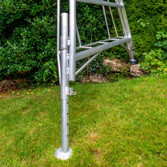 Professional Platform Tripod Ladder - 3 Legs Adjustable 12ft / 3.6m