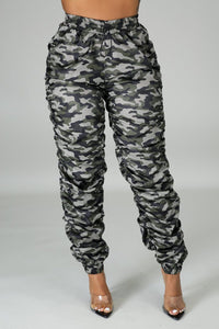 On a mission joggers