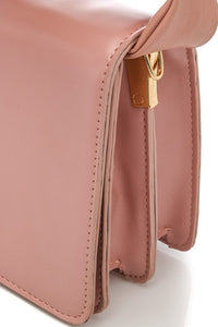 Knot top handle bag