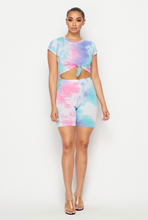 Load image into Gallery viewer, Tie Dye me up short set